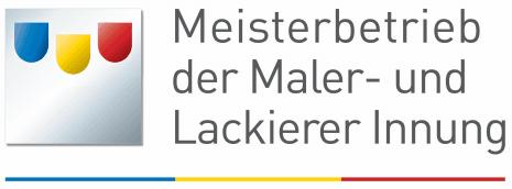 Meisterbetrieb Logo Maler